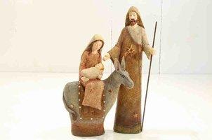 Josef og maria på æsel