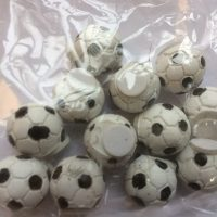 fodbolde med klæbepude