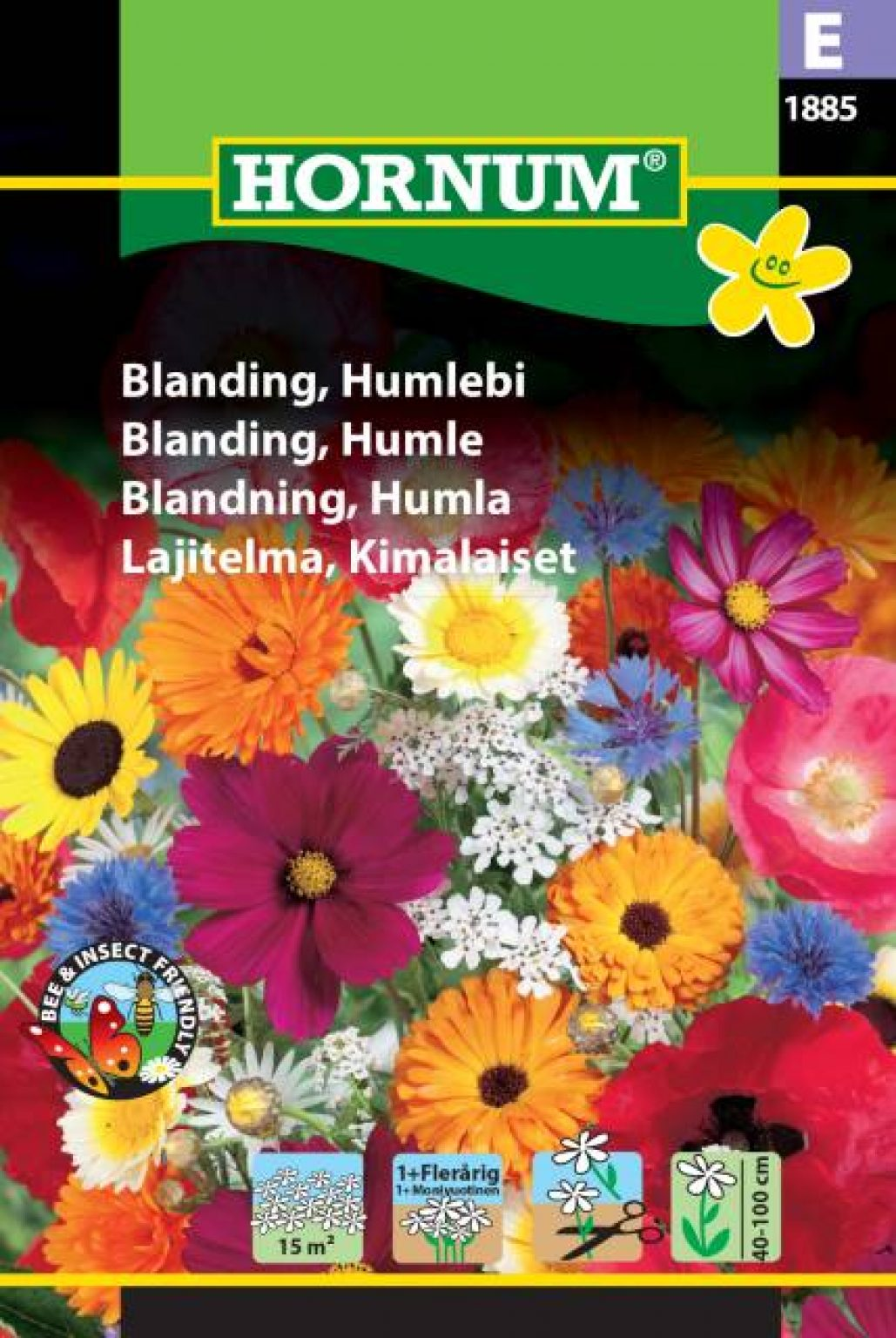 Humlebi Blomsterblanding